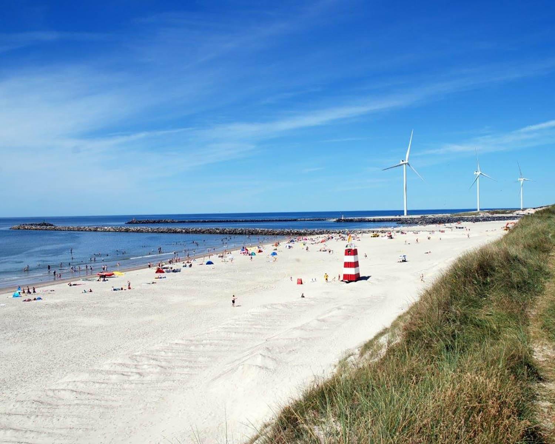 Forskellige De bedste strande i Hvide Sande - Sommerhusferie med Feriepartner QM63